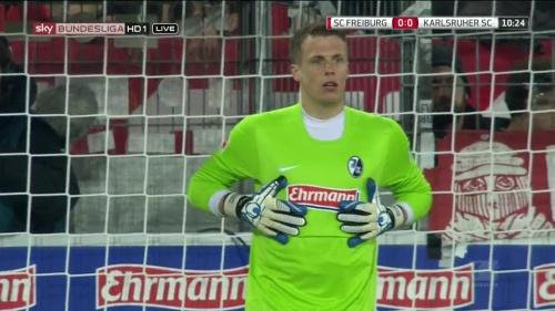 Alexander Schwolow – SC Freiburg v KSC 2