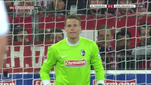 Alexander Schwolow – SC Freiburg v KSC 3
