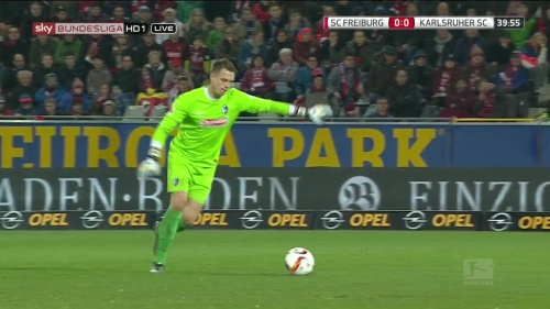Alexander Schwolow – SC Freiburg v KSC 4