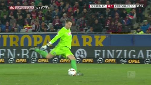 Alexander Schwolow – SC Freiburg v KSC 5