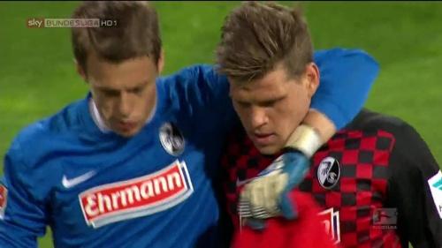 Alexander Schwolow & Florian Niederlechner – Braunschweig v SC Freiburg 1