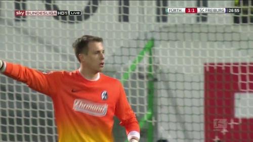 Alexander Schwolow - Greuther Fürth v SC Freiburg 5