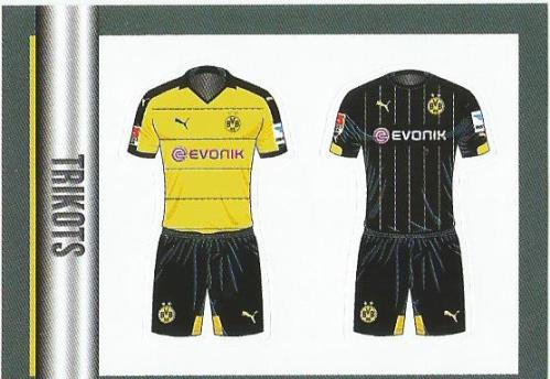 Borussia Dortmund Trikots - Bundesliga 2015-16 sticker