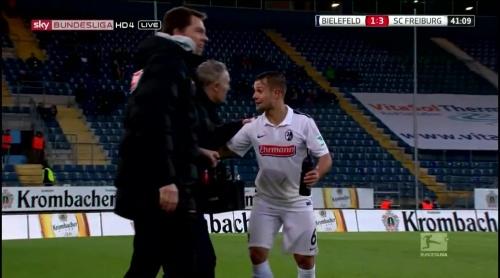 Christian Streich & Amir Abrashi – Arminia Bielefeld v SC Freiburg 1