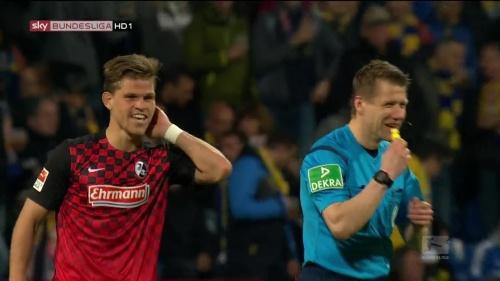 Florian Niederlechner – Braunschweig v SC Freiburg 2