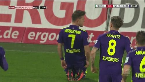 Florian Niederlechner - Greuther Fürth v SC Freiburg 2