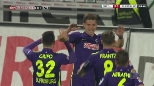 Florian Niederlechner - Greuther Fürth v SC Freiburg 3
