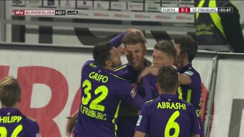 Florian Niederlechner - Greuther Fürth v SC Freiburg 4