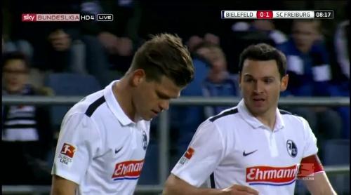 Florian Niederlechner & Nicolas Höfler – Arminia Bielefeld v SC Freiburg