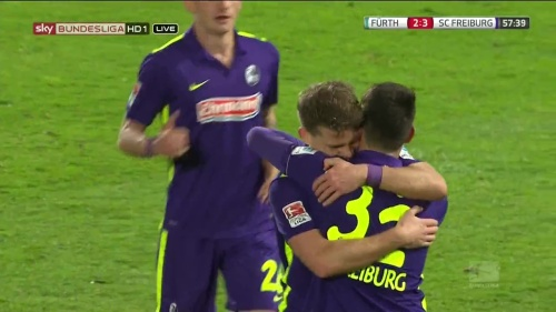 Florian Niederlechner & Vincenzo Grifo – Greuther Fürth v SC Freiburg 1