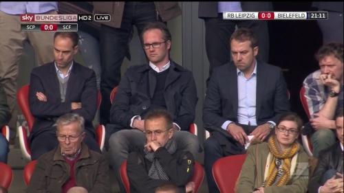 Hansi Flick at RB Leipzig v Arminia Bielefeld 2015-16 1