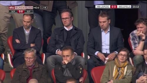 Hansi Flick at RB Leipzig v Arminia Bielefeld 2015-16 2