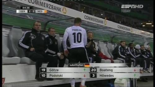 Hansi Flick – Germany v Holland (2011) 1
