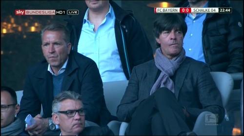 Joachim Löw at Bayern v Schalke 2015-16 1
