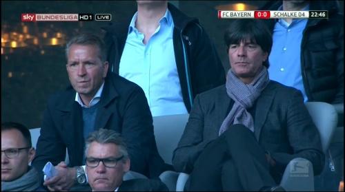Joachim Löw at Bayern v Schalke 2015-16 2