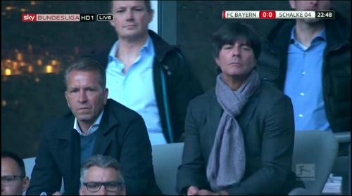 Joachim Löw at Bayern v Schalke 2015-16 3