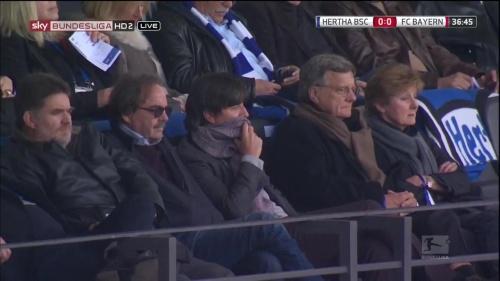 Joachim Löw at Hertha Berlin v FC Bayern München 15-16 2