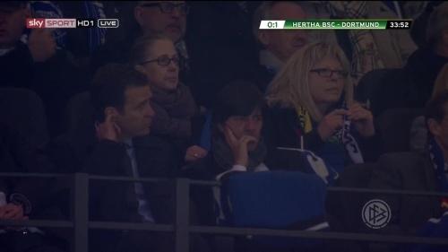 Joachim Löw at Hertha BSC v Borussia Dortmund (DFB Pokal) 2015-16 1