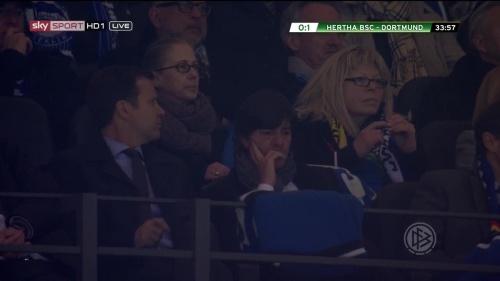 Joachim Löw at Hertha BSC v Borussia Dortmund (DFB Pokal) 2015-16 2