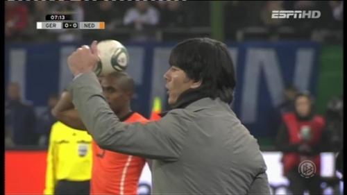 Joachim Löw – Germany v Holland (2011) 1