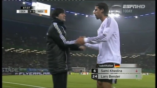 Joachim Löw – Germany v Holland (2011) 11