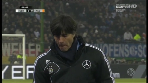 Joachim Löw – Germany v Holland (2011) 12