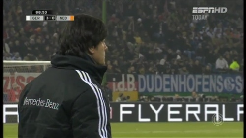 Joachim Löw – Germany v Holland (2011) 13