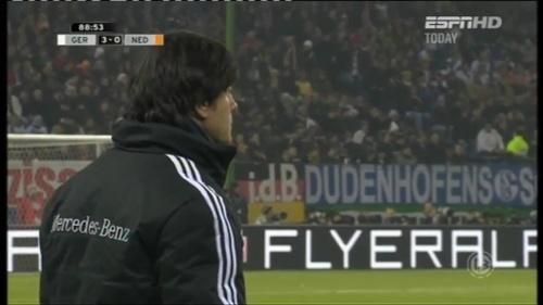 Joachim Löw – Germany v Holland (2011) 13