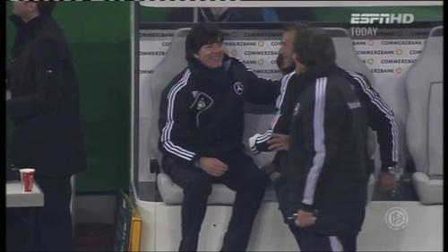Joachim Löw – Germany v Holland (2011) 14