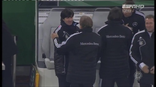 Joachim Löw – Germany v Holland (2011) 15