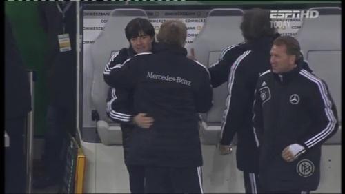 Joachim Löw – Germany v Holland (2011) 16