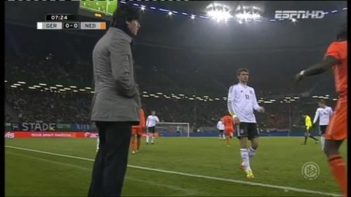 Joachim Löw – Germany v Holland (2011) 2