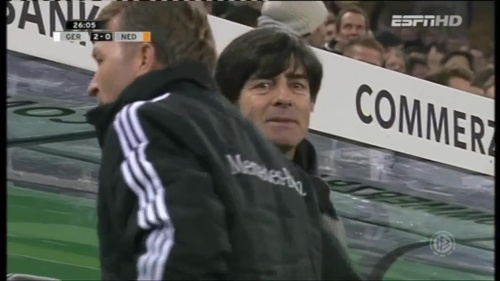Joachim Löw – Germany v Holland (2011) 3