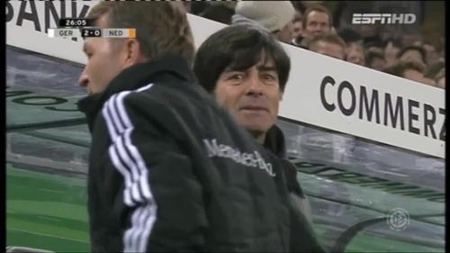 Joachim Löw – Germany v Holland (2011) 3