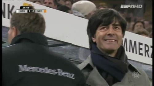 Joachim Löw – Germany v Holland (2011) 4