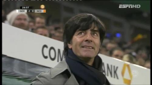 Joachim Löw – Germany v Holland (2011) 5