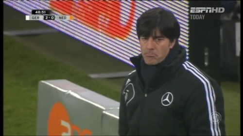 Joachim Löw – Germany v Holland (2011) 6