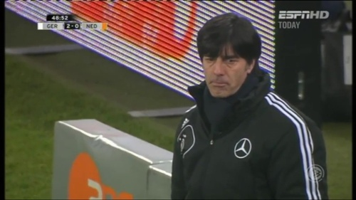 Joachim Löw – Germany v Holland (2011) 7