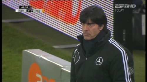 Joachim Löw – Germany v Holland (2011) 8