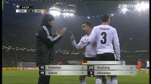 Joachim Löw – Germany v Holland (2011) 9