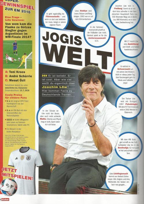 Joachim Löw – kicker EM16 special 3