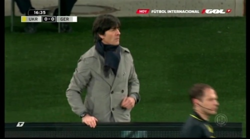 Joachim Löw – Ukraine v Germany (2011) 1