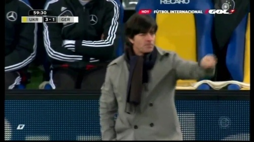 Joachim Löw – Ukraine v Germany (2011) 10