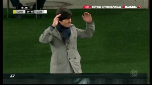 Joachim Löw – Ukraine v Germany (2011) 2