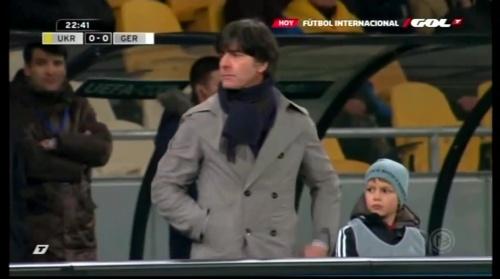 Joachim Löw – Ukraine v Germany (2011) 3