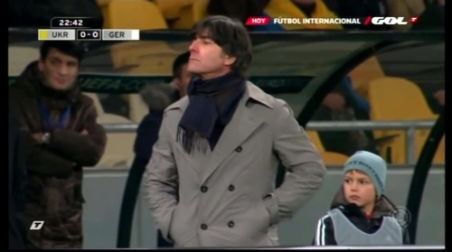 Joachim Löw – Ukraine v Germany (2011) 4