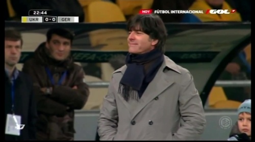 Joachim Löw – Ukraine v Germany (2011) 5