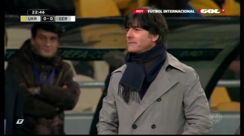 Joachim Löw – Ukraine v Germany (2011) 7