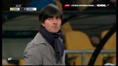 Joachim Löw – Ukraine v Germany (2011) 8