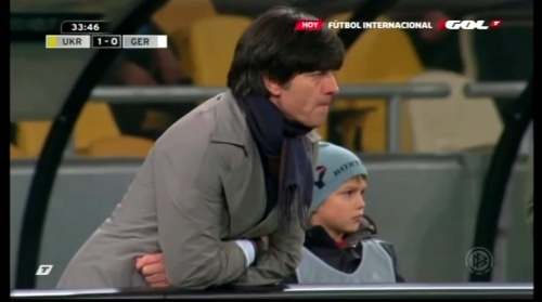 Joachim Löw – Ukraine v Germany (2011) 9